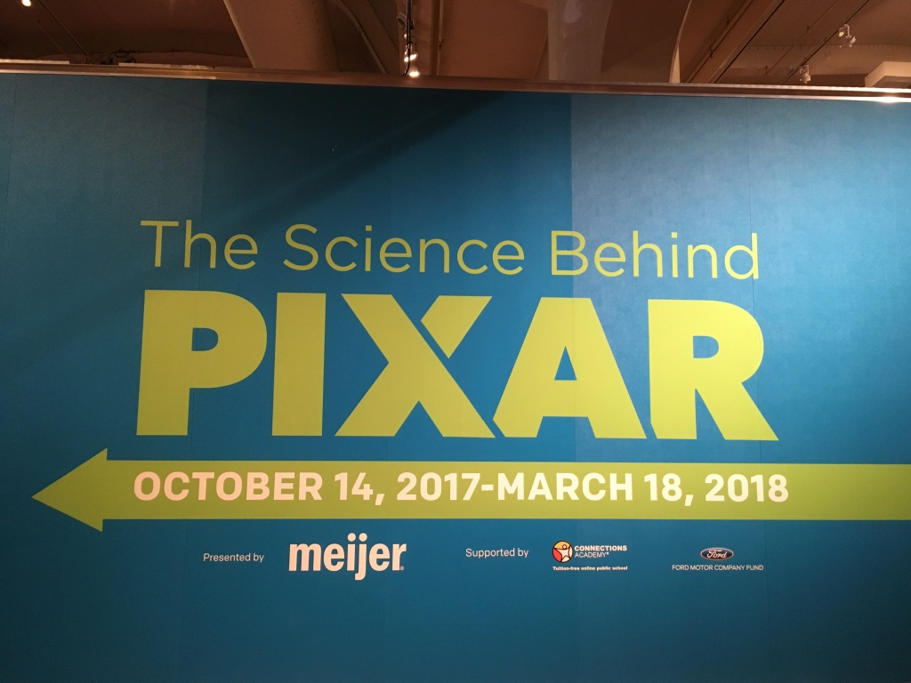 Science Behind Pixar Sign in Dearborn, Michigan