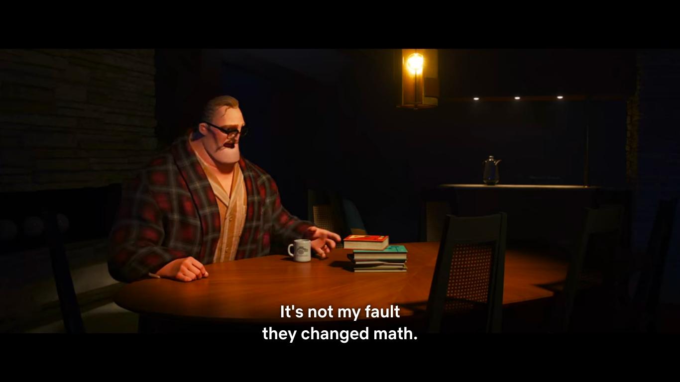 Screenshot from Disney Pixar's Incredibles 2