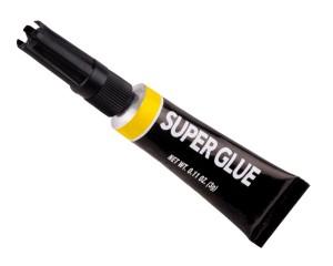 Stok image of superglue
