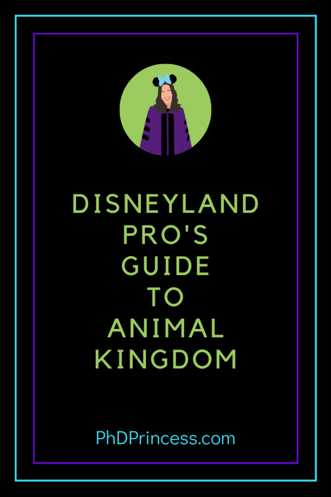 Disneyland Pro's Guide to Animal Kingdom - The PhD Princess