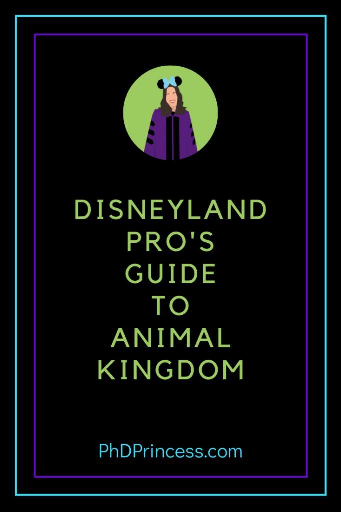 Disneyland Pro's Guide to Animal Kingdom
